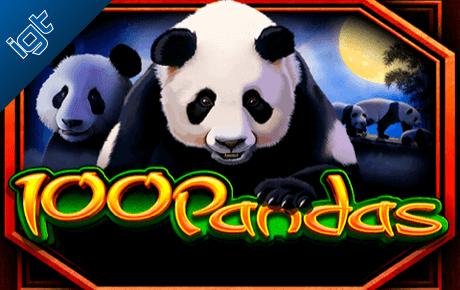 100 Pandas Gokkast