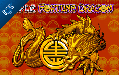 Triple Fortune Dragon Gokkast