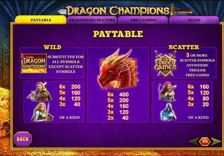 Spiele Dragon Champions - Video Slots Online