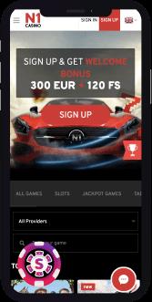 n1 casino mobiel